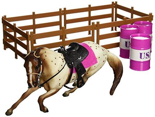Breyer Classics Barrel Racing Horse Toy Set ()