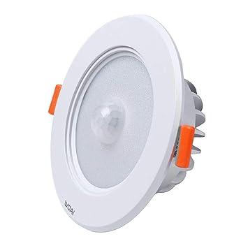 Justdolife Luz De Sensor De Movimiento Luz De Armario LED De 5W Luz De Escalera Luz