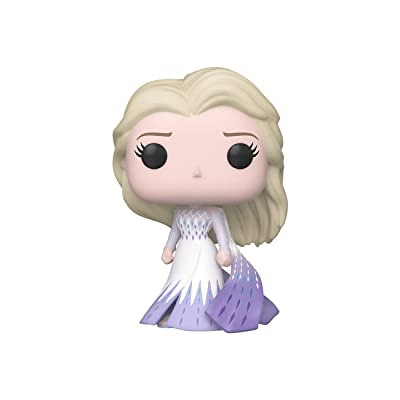 Funko Pop! Disney: Frozen 2 - Elsa (Epilogue Dress), Multicolor, 3.75 inches, (Model: 46582): Toys & Games