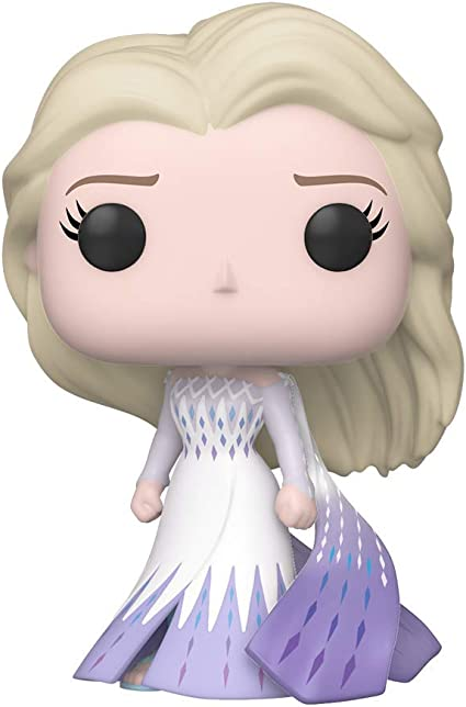 Funko Pop Disney Frozen 2 Elsa Epilogue Dress Vinyl Figure Toys Games