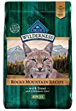 Blue Buffalo Wilderness Rocky Mountain Recipe High Protein Grain Free, Natural Adult Dry Cat Food, Trout 10-Lb