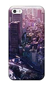 Janice K. Alvarado's Shop Best cityscapes buildings anime flats cities Anime Pop Culture Hard Plastic iPhone 5/5s cases 5369876K670754303