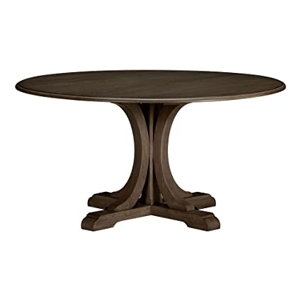 Amazoncom Ethan Allen Corin Round Pedestal Dining Table 60