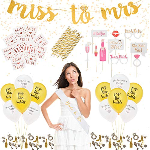 Complete Bachelorette Party Decorations Kit by ASUSA -