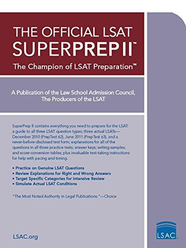 Pdf Test Preparation The Official LSAT SuperPrep II: The Champion of LSAT Prep
