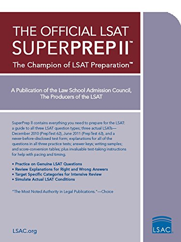 The Official LSAT SuperPrep II: The Champion of LSAT Prep cover