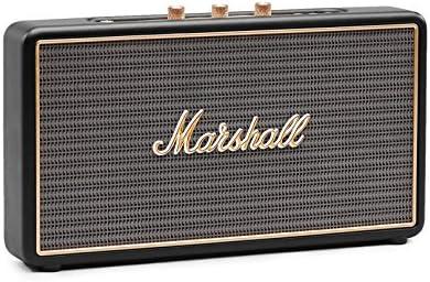 Marshall Stockwell Portable Bluetooth Speaker, Black 4091390