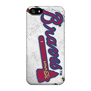 Great Hard Phone Case For iphone 6 4.7 (Qvw10822AHHY) Support Personal Customs Stylish Atlanta Braves Pictures