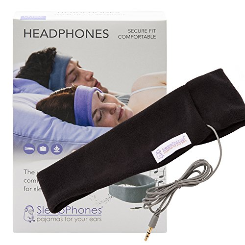 Sleepphones SC5BM Headphones Classic, Midnight Black