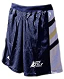 Notre Dame Fighting Irish 2008 College Navy Screen Printed Replica Basketball Shorts By Adidas (M=32-33)