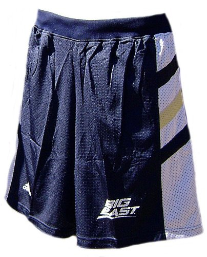 (Notre Dame Fighting Irish 2008 College Navy Screen Printed Replica Basketball Shorts By Adidas (M=32-33))