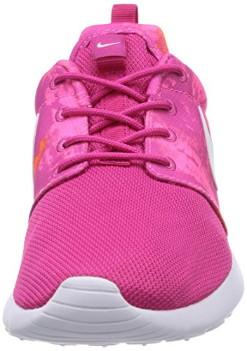 total orange Shoes firebird Sneakers Running 316 613 Women's white pink 599432 NIKE ROSHERUN PRINT power SqOI7g