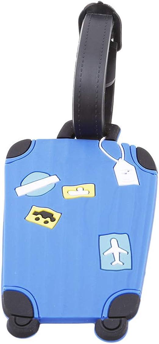 Sevenfly Gepäck Tags Flugzeug Gepäck Etiketten Adresse Reisen Zubehör Handtasche Tag Reise Koffer Id Name Tag Halter Blau Bekleidung