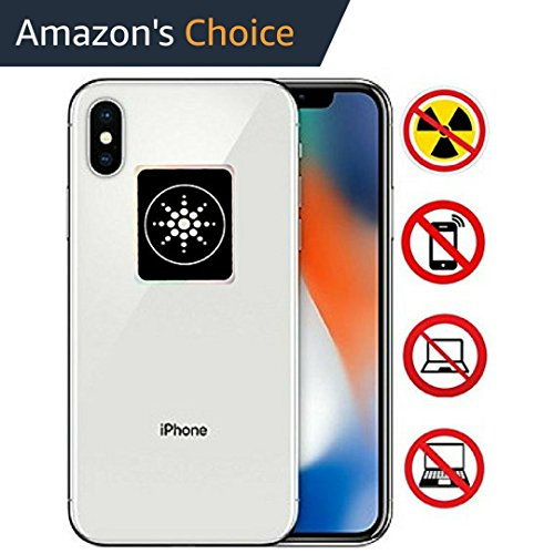 RADIATION PROTECTION FOR CELLPHONES/LAPTOP - ANTI EMF/EMR RADIATION STICKER - Radiation Shield Blocker - Remove Electronic Technologies Radiation