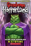 Escape from Horrorland, R. L. Stine, 0606053557