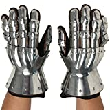 Armor Venue: 14th Century Crusader Hourglass Gauntlets Metallic One Size