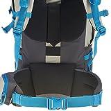 Quechua-Trekking-Backpacks-Light-Grey-50-L