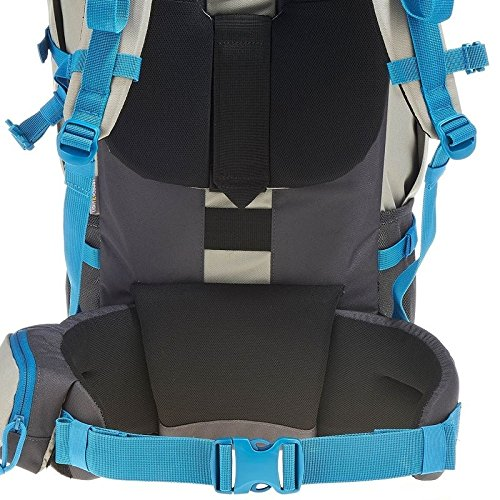 Quechua-Trekking-Backpacks-Light-Grey-50-L