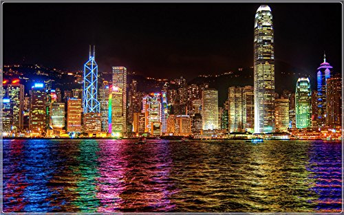 Hong Kong Postcard (hong-kong-colorfulness Postcard Post card)