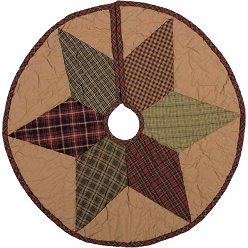VHC Brands Tea Star Mini Tree Skirt, 21