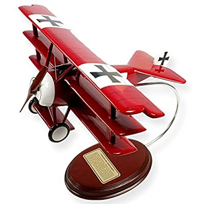 Mastercraft Collection Fokker DR1 Wood Model Aircraft Model