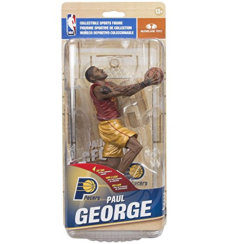 McFarlane Toys NBA Series 29 Paul George Indiana Pacers Collectible Action Figure by McFarlane
