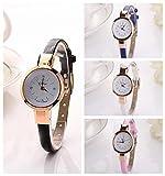 Ikevan Fashion Women Lady Round Quartz Analog Bracelet Wristwatch Watch Gift