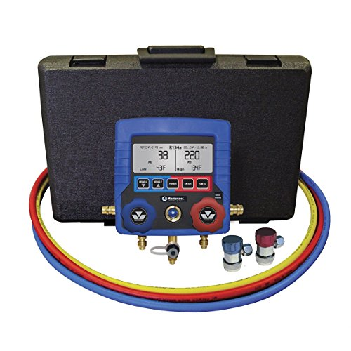 MASTERCOOL Intelligent Digital Manifold Gauge Set by G and G Tools