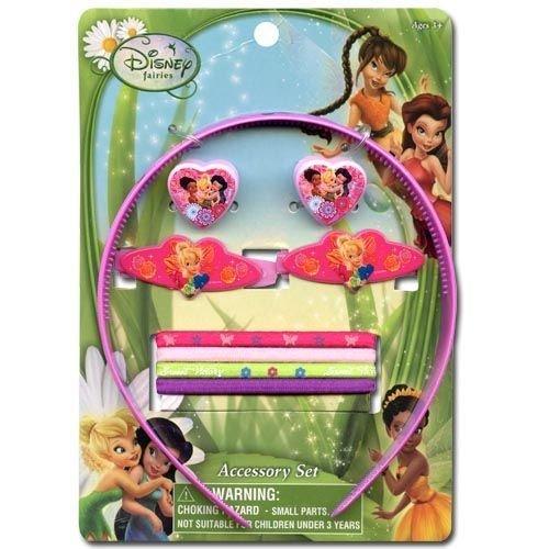 Fairies Disney 9 Pc Hair Accessory Set- 913414 -