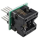 SOIC8 SOP8 To DIP8 IC Socket Converter Module Programmer Adapter OTS-16-03 For 24xx 93xx EEPROM