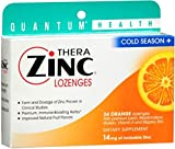 Quantum Thera Zinc Cold Season+ Lozenges Orange 24 Each (Pack of 12)