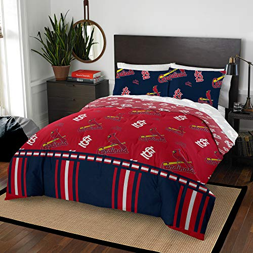 The Northwest Company MLB St. Louis Cardinals Full Bed in a Bag Complete Bedding Set #761536710 ()