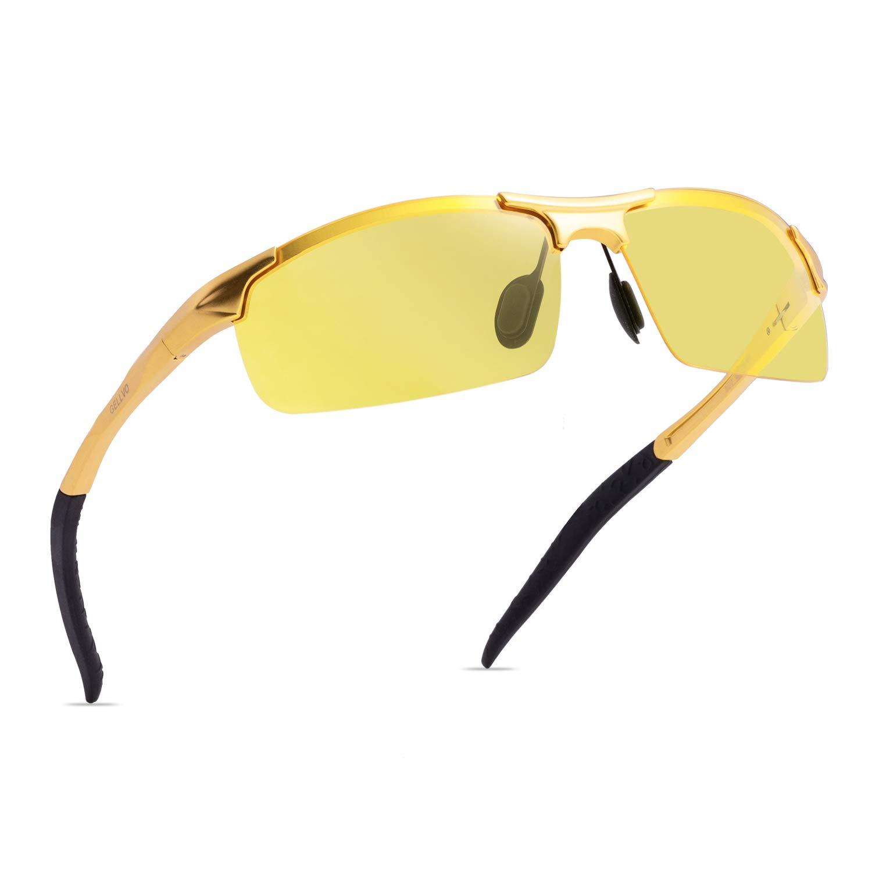 Soxick HD Gafas de conducción nocturna polarizadas gafas de ...