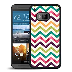Paint Palette Chevron Durable High Quality HTC ONE M9 Phone Case