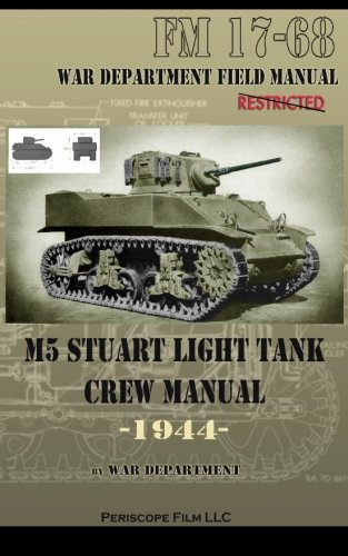 M5 Stuart Light Tank Crew Manual for sale  Delivered anywhere in USA