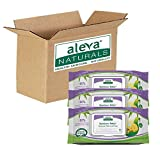 Aleva Naturals Bamboo Baby Wipes 240-Count (Pack of 4)