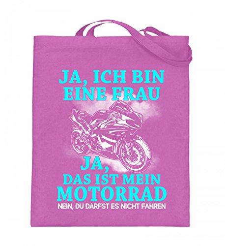 Shirtee XZMCCQXP_XT003_38cm_42cm_5739 - Bolso de tela de algodón para mujer Azul azul 38cm-42cm Rosa