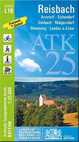 ATK25-L16 Reisbach (Amtliche Topographische Karte 1:25000)