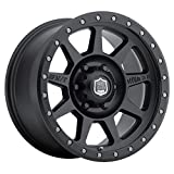Mickey Thompson Deegan 38 PRO 4 Black Wheel with Matte Black Finish (17x9''/5x5'') -12 millimeters offset