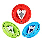 Earbud Holder Case Earphone Organizer Storage [3 Pack], MAIRUI Headphone Cable Management Cord Wrap Keeper Silicone Magnetic Tangle Free Winder