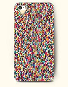 Phone Skin iPhone Case For Iphone 6 4.7 Inch Cover ( 5C EXCLUDED ) -- Multi-Colored Geometric Pattern