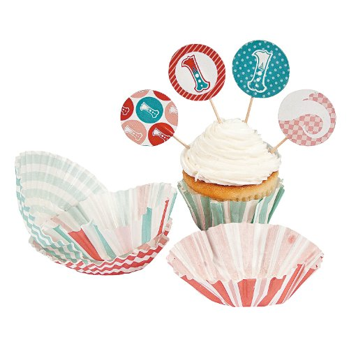 Birthday Circus Cupcake Fun Express