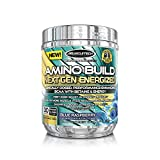 MuscleTech Amino Build Energized, 30 Serving, Blue Raspberry, 9.96 Ounce (Pack of 6)