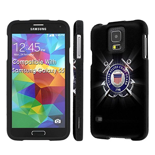 - [Galaxy S5] [SlickCandy] [Black] Hard Protector Snap Designer Shell Case - [United States Coast Guard] for Samsung Galaxy S5