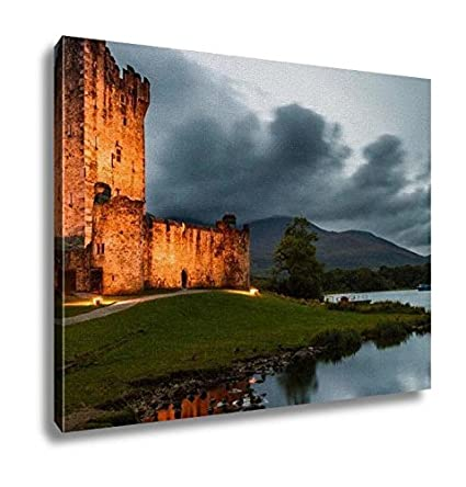 Miraculous Amazon Com Ashley Canvas Medieval Irish Castle Kitchen Interior Design Ideas Apansoteloinfo