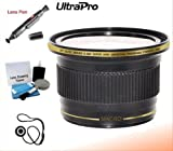 43mm 0.38x HD Fisheye Lens with Macro Attachment for Select Canon Digital Cameras. UltraPro Bundle Includes: Lens Pen Cleaner, Cap Keeper, UltraPro Deluxe Cleaning Kit