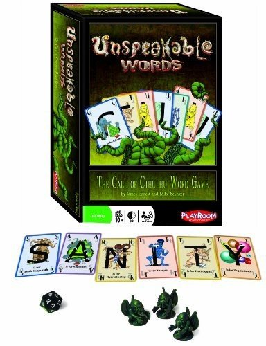 Unspeakable Words Card Game (Halloween Words 10 Letters)