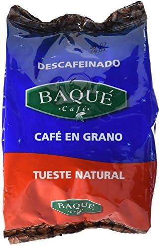 Cafés Baqué Café en Grano Descafeinado - 250 gr - [Pack de 4]: Amazon.es: Alimentación y bebidas