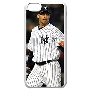 MLB Iphone 5C White New York Yankees cell phone cases&Gift Holiday&Christmas Gifts NBGH6C9125837