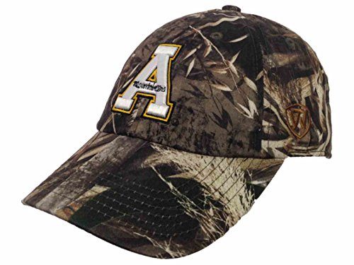 Top of the World Appalachian State Mountaineers TOW Realtree Max-5 Camo Crew Adjustable Hat Cap